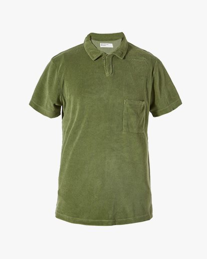 Universal Works Vacation Polo Olive