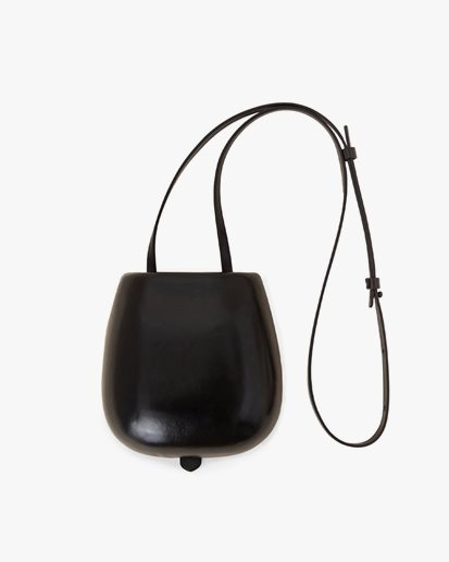 Lemaire Molded Tacco Bag Black
