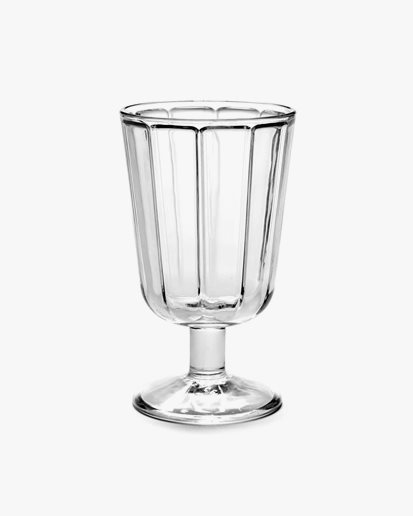 Serax Red Wine Glass Surface Clear