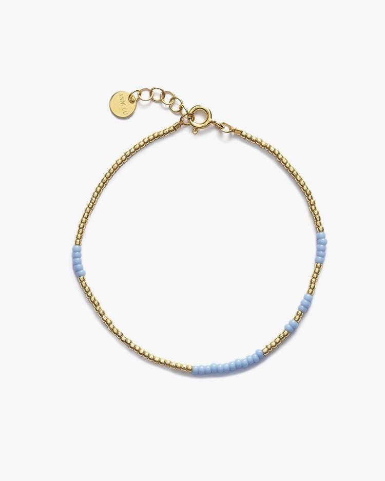 Anni Lu Asym Bracelet Light Blue