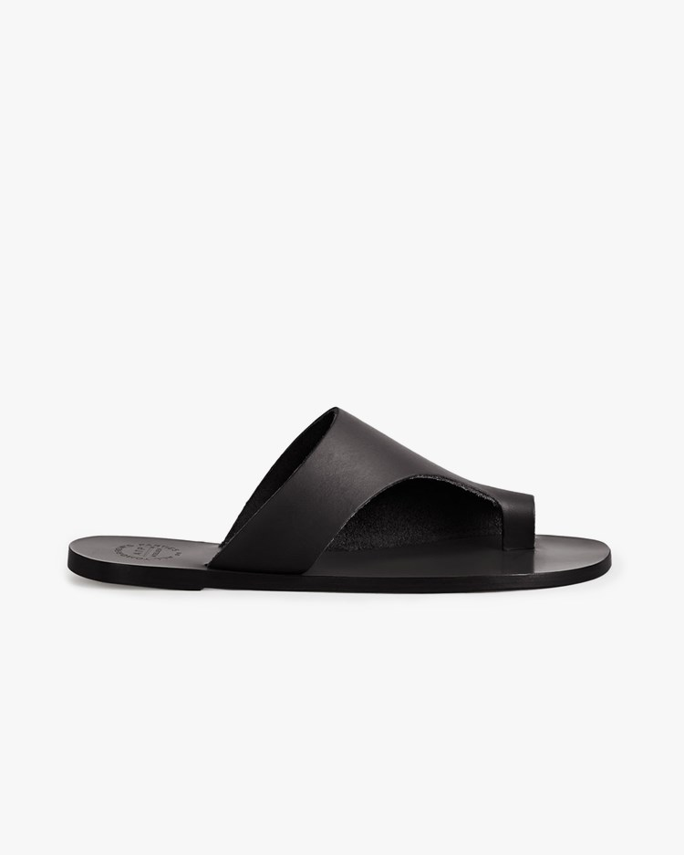 Atp Atelier Rosa Cutout Sandals Black
