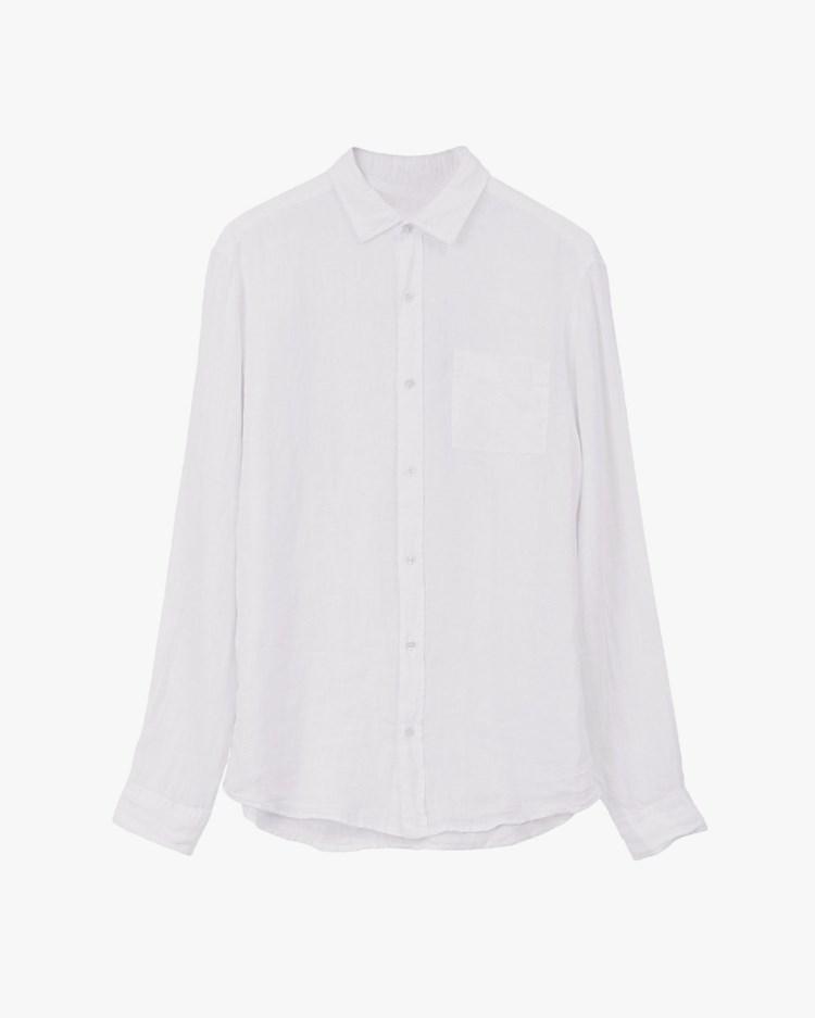 Vallgatan 12 Linen Shirt White