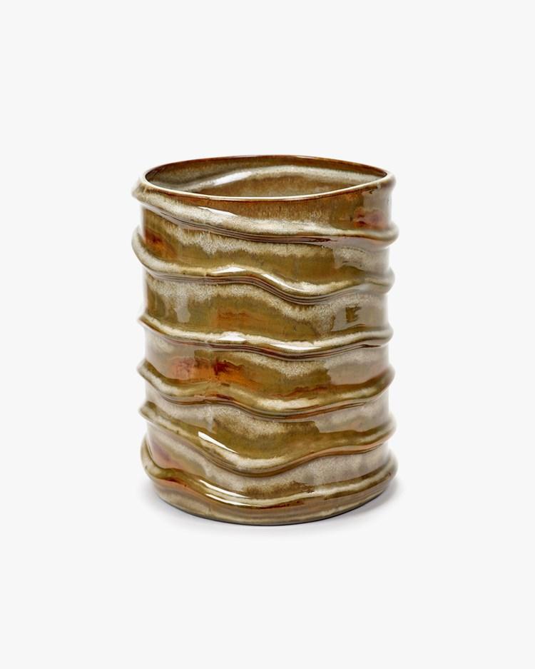 Serax Vase Structure Anita Birch White