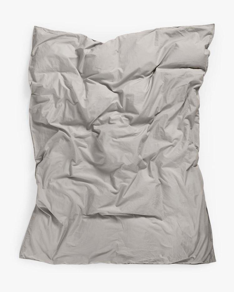 Midnatt Duvet Cover Pebble
