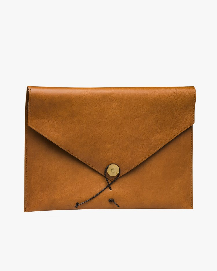 P.A.P Accessories Kungsten Laptop Cover Cognac Leather