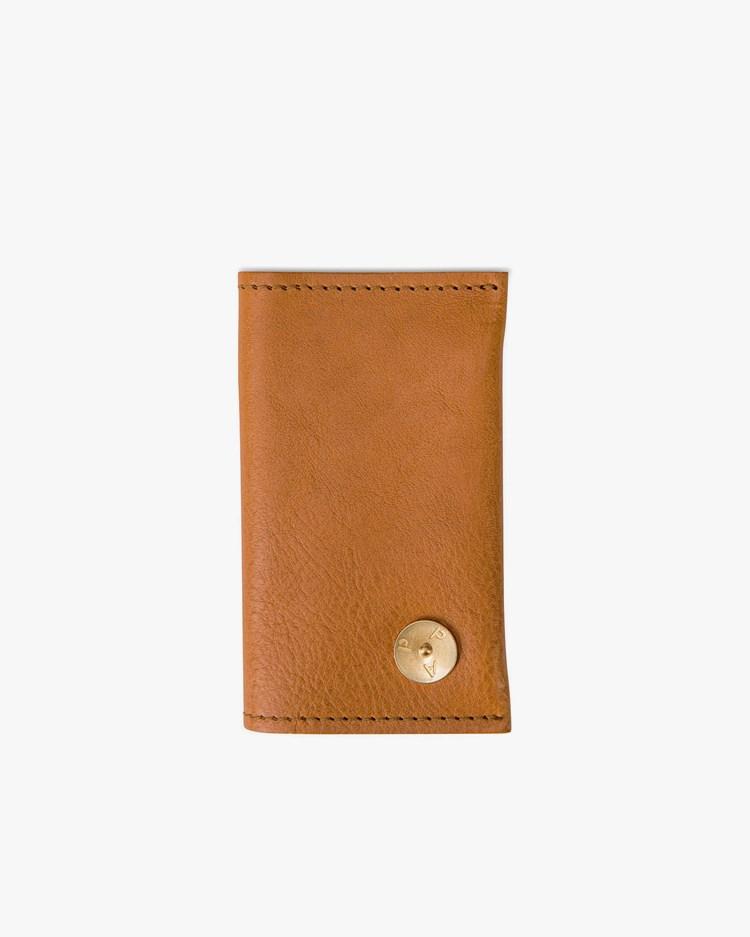 P.A.P Accessories Martin Card Wallet Cognac Leather