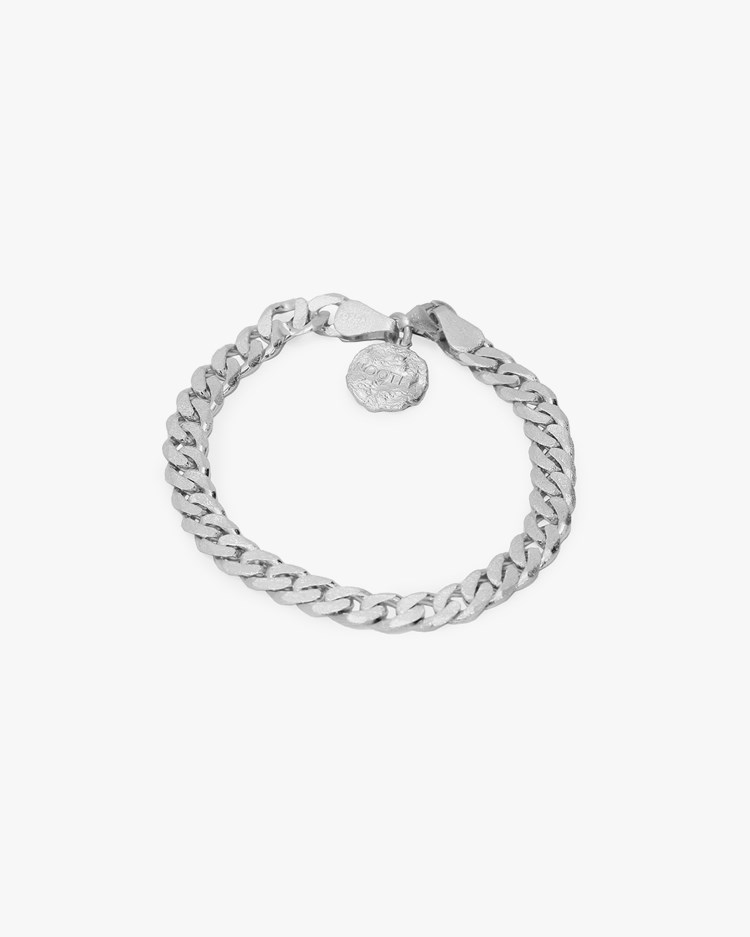 Nootka Jewelry Link Bracelet Silver