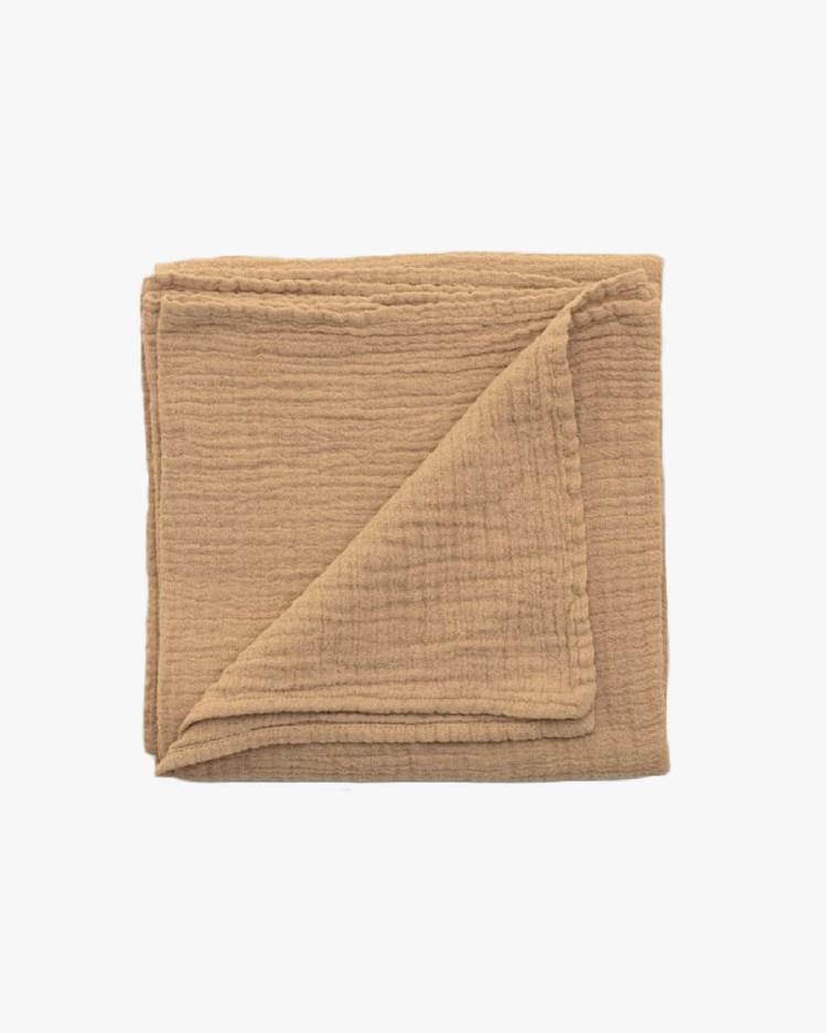 Garbo & Friends Muslin Swaddle Blanket Hay