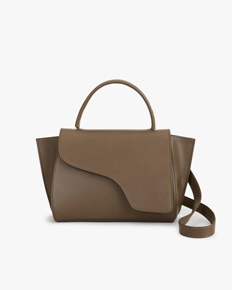Atp Atelier Arezzo Handbag Khaki Brown