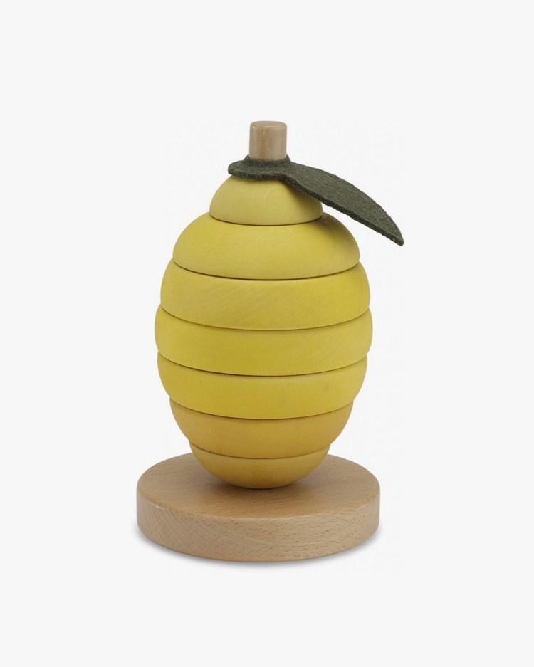 Konges Sløjd Stacking Fruits Lemon
