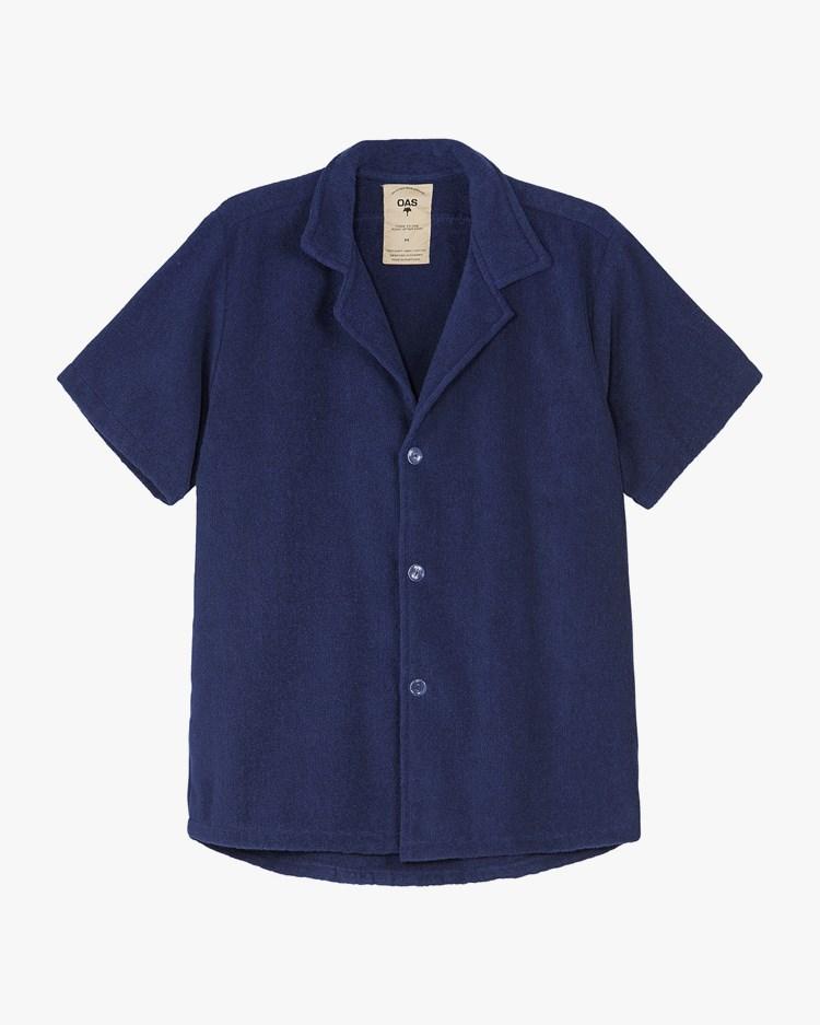 Oas Company Cuba Terry Shirt Navy