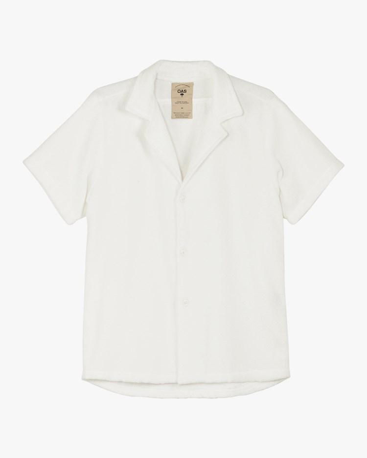 Oas Company Cuba Terry Shirt White
