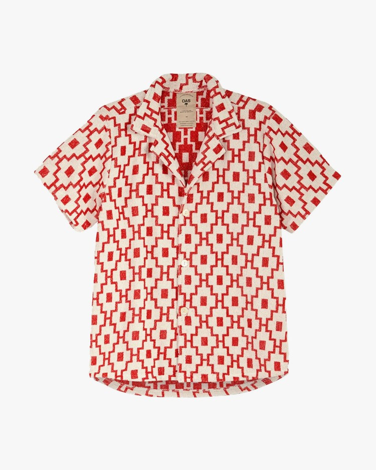 Oas Company Cuba Terry Shirt White/Machu