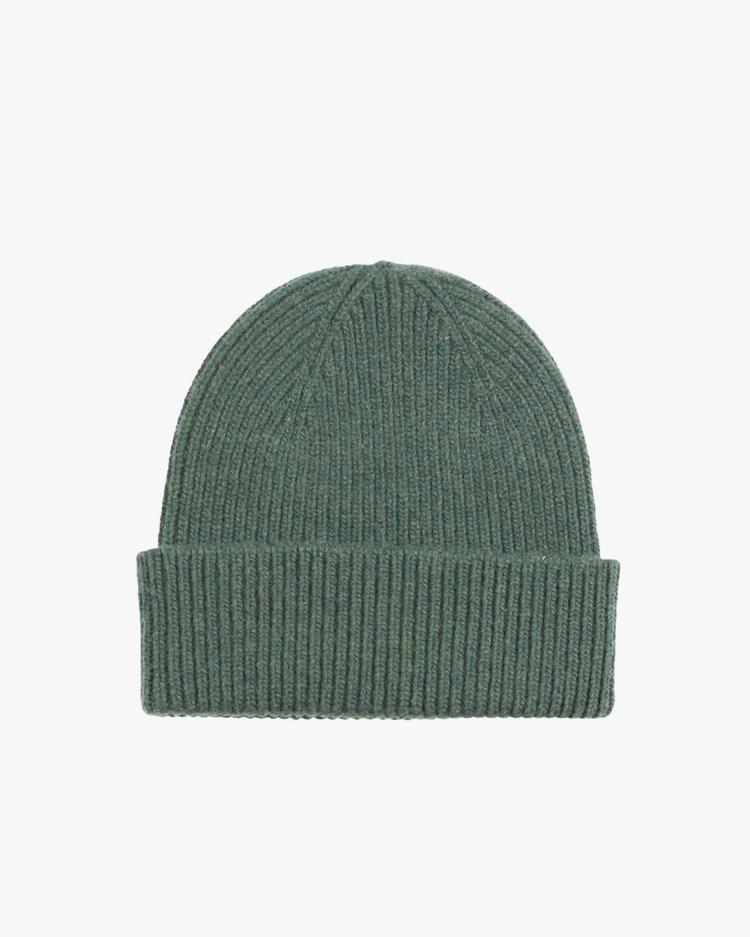Colorful Standard Merino Wool Beanie Emerald Green