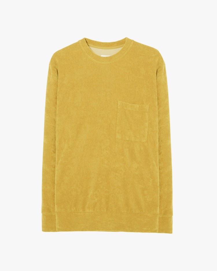 Universal Works Loose Pullover Gold