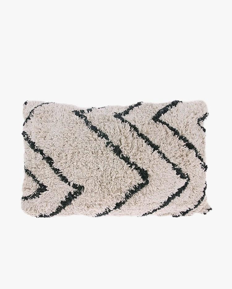 HK Living Zigzag Cushion White