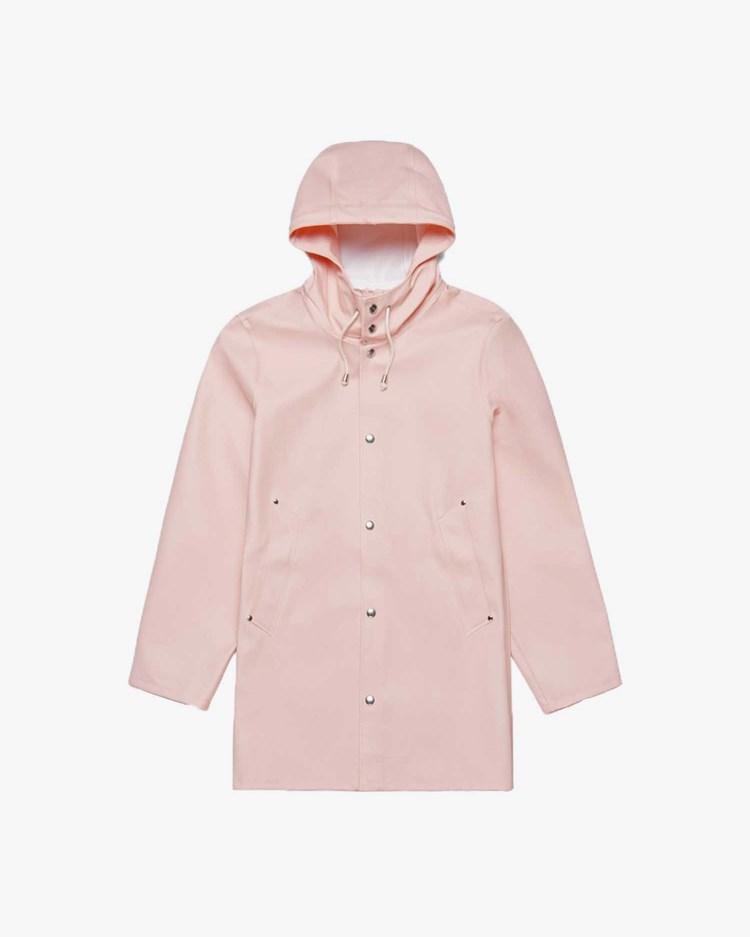 Stutterheim Stockholm Raincoat Pale Pink