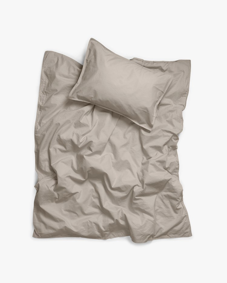 Midnatt Baby Bed Set Pebble