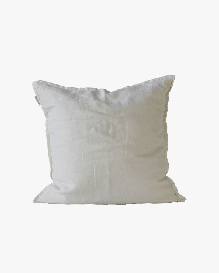 Tell Me More Cushion Cover Linen Off White 50x50