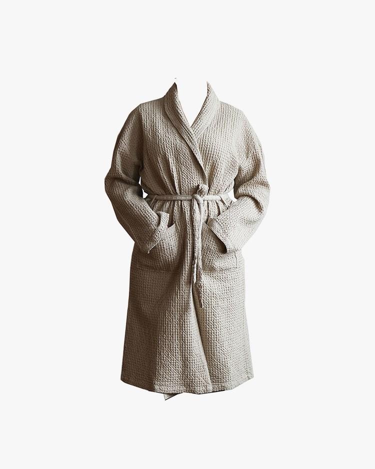 Tell Me More Miro Robe Sand Beige