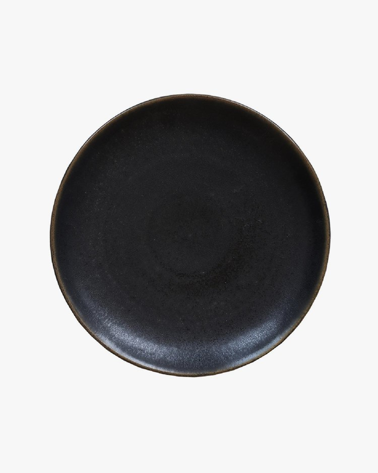 Tell Me More Bastia Dinner Plate Black