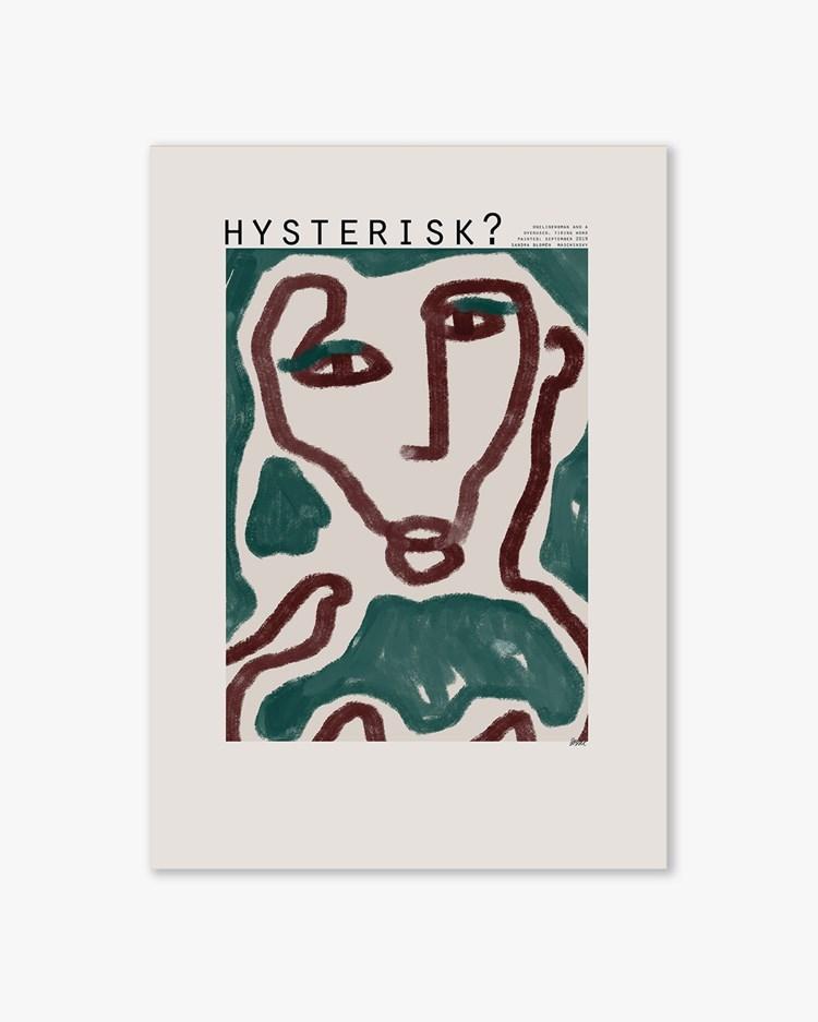 Wall Of Art Sandra Blomen Maschinsky Hysterisk