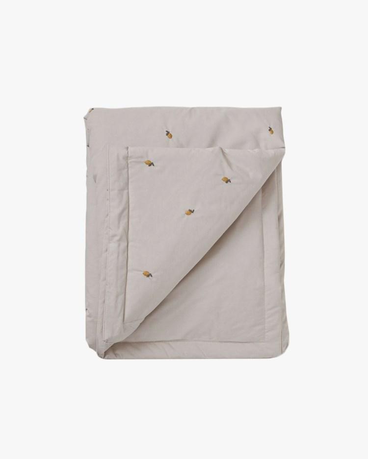Garbo & Friends Filled Blanket Lemon