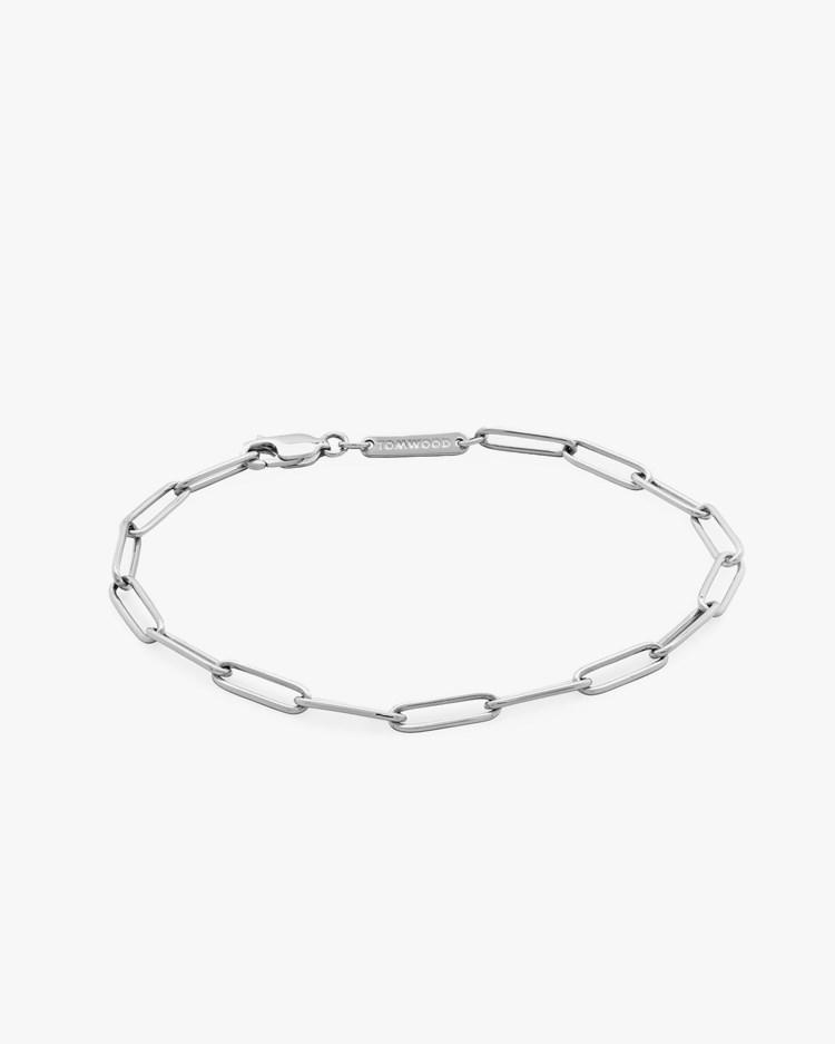 Tom Wood Box Bracelet Silver
