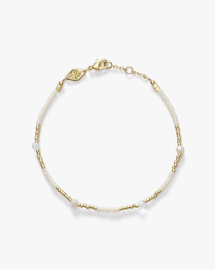 Anni Lu Clemence Bracelet Ecru