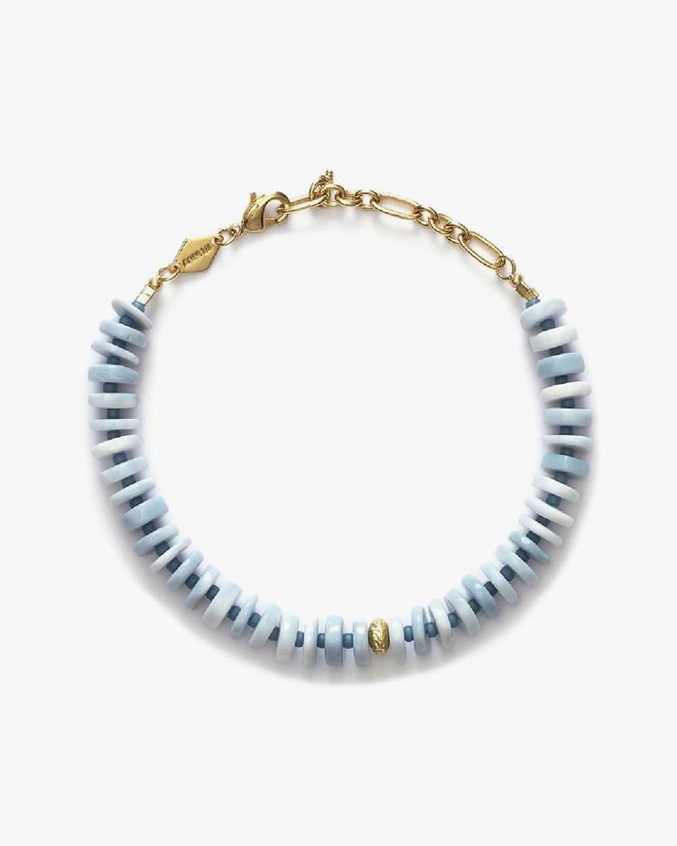 Anni Lu The Big Blue Bracelet Gold