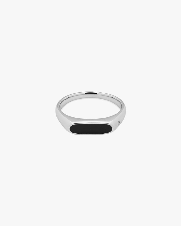 Tom Wood Mario Ring Black Onyx