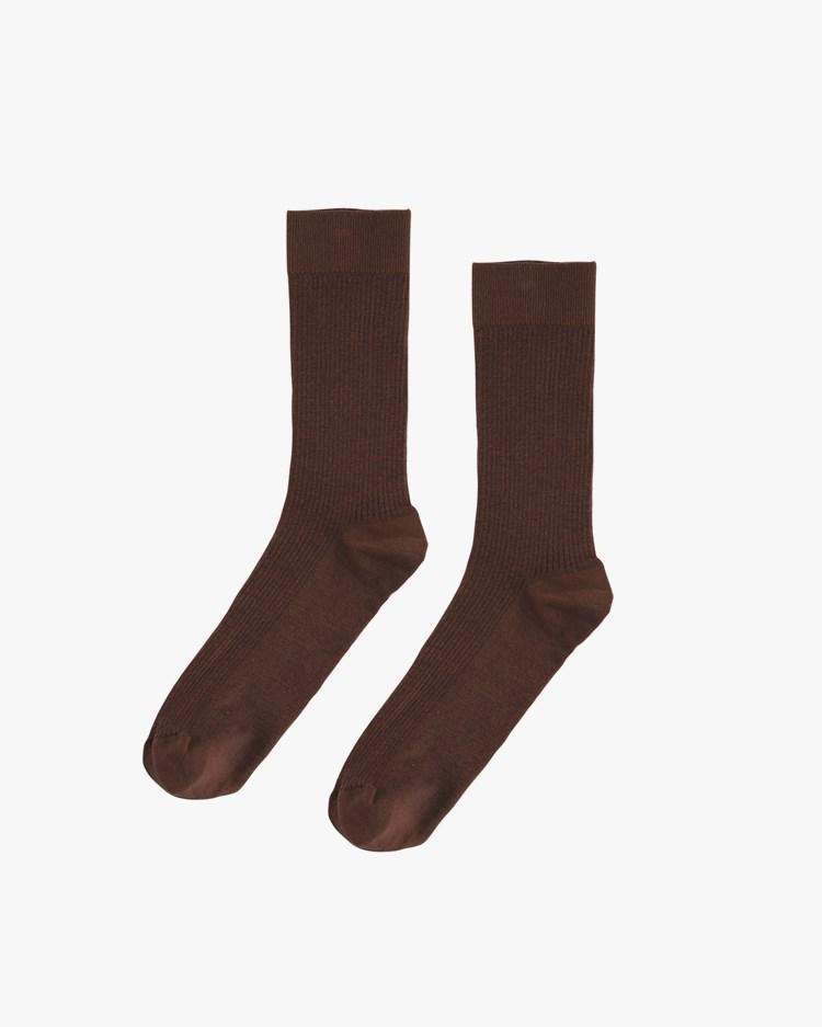 Colorful Standard Classic Organic Sock Coffee Brown