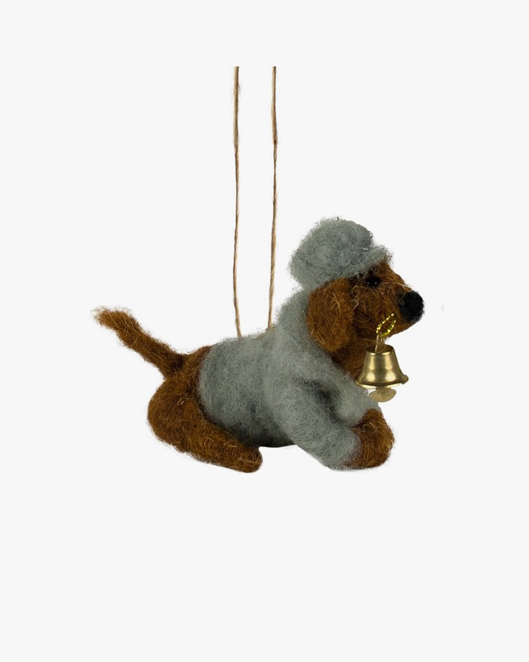 Olsson & Jensen Christmas Decoration Dog With Bell