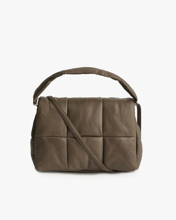 Stand Studio Wanda Leather Clutch Bag Sea Turtle