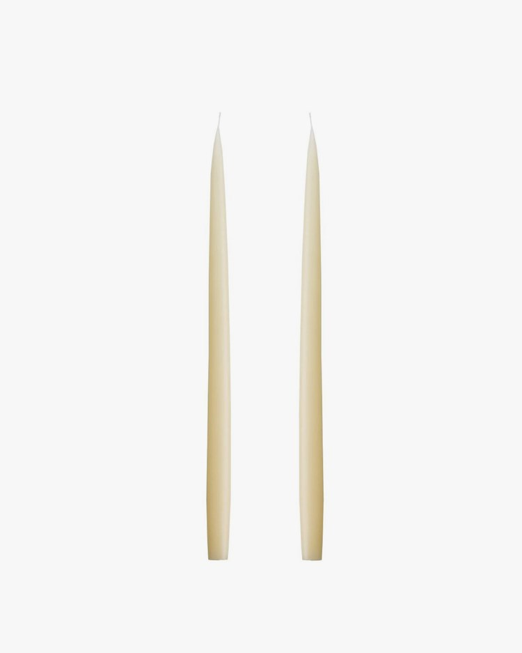 Kunstindustrien Hand Dipped Candle Ivory