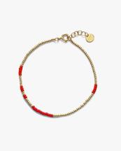 Anni Lu Asym Bracelet Red