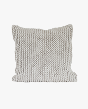 Tell Me More Rope Cushion Cover Off White
