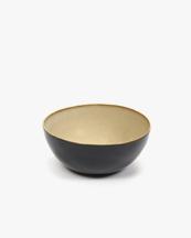 Serax Bowl Misty Grey/Dark Blue