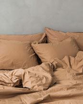 Midnatt Duvet Cover Dromedary