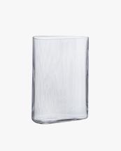 Nude Mist Vase Tall Clear