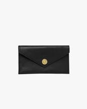 P.A.P Accessories Haga Purse Black Leather