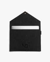 P.A.P Accessories Kungsten Laptop Cover Dark Grey Felt