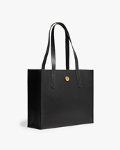 P.A.P Accessories Noelle Tote Bag Blacker Leather