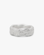 Nootka Jewelry Chunky Ring Silver