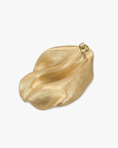 Nootka Jewelry Coral Earring Gold