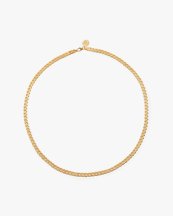 Nootka Jewelry Link Necklace Gold