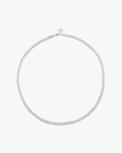 Nootka Jewelry Link Necklace Silver