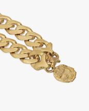 Nootka Jewelry Raw Necklace Gold