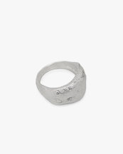 Nootka Jewelry Signet Ring Silver