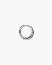 Blue Billie Small Ring Silver